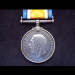 BRITISH WAR MEDAL to A.B. William Victor BACON R.N. - Served on HMS VENUS 1914-18 (from Cobham)