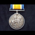 BRITISH WAR MEDAL to 2nd LIEUT Harry Grey PATON - Mobilised for the Royal Naval Division & commis...
