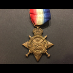 1914 STAR to PTE DALE 1st SHROPS.L.I. - Wounded at Armentieres 1914