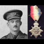 1914 STAR to LIEUT Wilfred John Mackenzie HADFIELD 2nd SOUTH LANCS.REGT who was ambushed & severe...