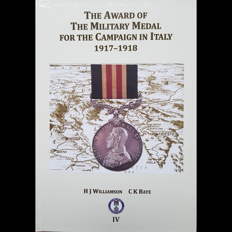 THE AWARD OF THE MILITARY MED. | Great War Medals