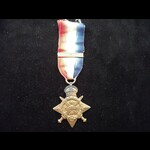 1914 STAR to L-9750 PTE Frederick WILES 1st MIDDLESEX REGT  from Hackney - KIA F&F 2/11/14 & buri...