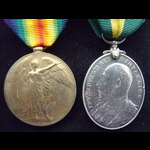 EviiR T.F.E.M. & VICTORY MEDAL to 506 L.CPL Robert McCOLL 9th Dumbartonshire Battalion, Argyll & ...