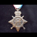 1914 STAR to CPL Percy Brooki. | Great War Medals