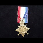 1914 STAR to MISS Evelyn Charlotte Johnstone BEVAN Q.A.I.M.N.S.R. Trained at St.Thomas Hospital. ...