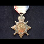 1914/15 STAR to 1783 PTE Fred SLATER 4th L.N.LAN.R  - From Preston, Lancs. KIA during his Battali...