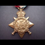 1914 STAR to PTE THORNLOE 1st NOTTS.& DERBY.R., later Heavy Battery, TANK CORPS