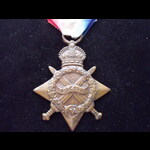 1914/15 STAR to  Sub Lieutenant  Solomon MYERS R.N.R. from Chingford who served on the Armed Merc...