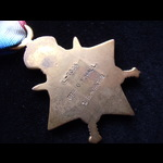1914 STAR to L-7005 PTE George Frederick HALL 1st EAST KENT REGT. To France 26/8/14 with 1st Buff...