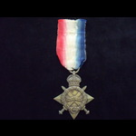 1914/15 STAR to 16478 PTE James MOORE 6th 'PIONEER' Battalion, SOUTH WALES BORDERERS  Served in F...