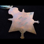 1914 STAR to 6252 PTE Isaac CHARD 3rd COLDSTREAM GUARDS - Born at Whimple, Exeter. KIA 14/9/14 du...