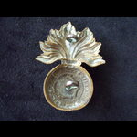 Original ROYAL FUSILIERS Brass Cap Badge.   Post-1902 Smaller size (lugs)