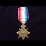 1914/15 STAR to PTE Randall Gurney Thomas MERCHANT MIDDLESEX REGT - Born Langley, Slough & lived ...