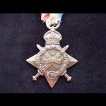 1914/15 STAR to 14828 PTE Frederick ALDER  9th WORCESTERSHIRE REGT. Served at Gallipoli from 4/7/15