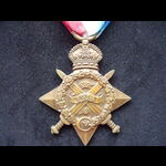 1914 STAR to 89684 DVR William James MELBOURNE R.F.A.  A Boer War veteran who served in France (W...