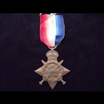1914/15 STAR to 4612 PTE Peter BURGON 8th NORTHUMBERLAND FUSILIERS - served at Gallipoli 1915
