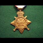 1914 STAR to DVR YOUNG  42nd Brigade R.F.A. - part of 3rd Division, B.E.F.