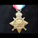 1914/15 STAR to 24820 PTE William WOODS 11th MANCHESTER R. - Born Lowestoft & was a Coal Miner at...