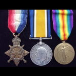 1914/15 TRIO to 21008 PTE Michael MADDEN 14th LIVERPOOL REGT Later transferred to 18th 'Liverpool...