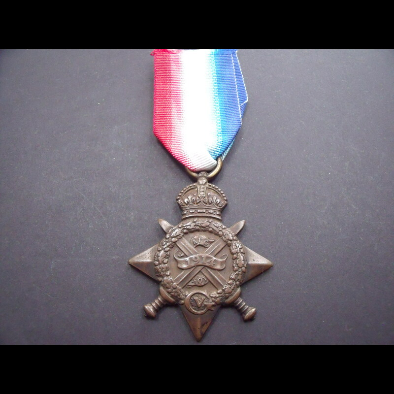 1914 STAR to PTE SHILLINGFORD. | Great War Medals