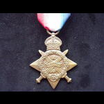 1914 STAR to L-14007 PTE Albert MARTINDALE 2nd MIDDLESEX REGT.  KIA at Laventie 30/11/14,  one of...