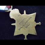 1914/15 STAR & VICTORY MEDAL  to CPL Charles MARTYN  'K' Special Gas Company, Royal Engineers. Co...