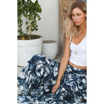 INKA - Tie Dye Fan Maxi Skirt/Dress