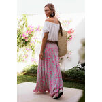 NADIA Hummingbird - Batik Maxi Skirt/Dress