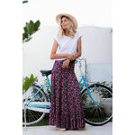 SAMANTHA - Fan Maxi Skirt/Dress
