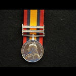QSA 2 clasps Pte Ward 3rd (The Prince of Wales) Dragoon Guards