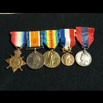 1914/15 Trio French Medaillie D'Honneur Bronze Swords and ISM Cpl Davis 5th Signal Coy Royal Engi...