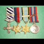 DFC & Bar and MID group to Bomber Command Pilot Stephens