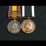 QSA 5 clasp & St Johns Ambulance Brigade Medal for South Africa South Africa Constabulary & Metro...