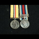 Iraq no clasp and OSM Afghanistan Cpl Heath Royal Army Medical Corps and Light Infantry