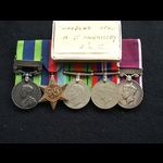 A very rare 1927 China Elgin Road Casualty & Battle of France Casualty POW Cpl Morrissey Durham L...