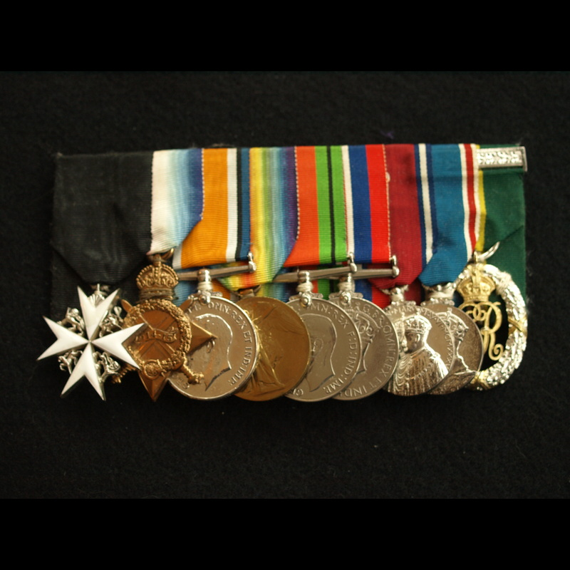 Order of St John, 1914/15 Tri.   Charlies Medals