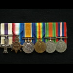 WW1 MC Group Capt Easterbrook 6th South Wales Borderers & 17th Corps Light Railway Comapny Royal ...