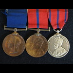 City of London Police Jubilee 1897, City of London Police Coronation 1902 &  1911 PC C Knott