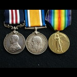 WW1 MM & Pair Pte Smith 2nd Royal Scots Fusiliers The Final Advance in Flanders