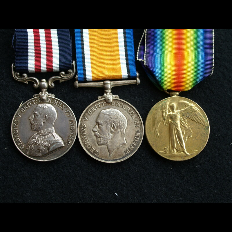 WW1 MM & Pair Pte Smith 2nd R.   Charlies Medals